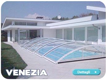 Vendita coperture telescopiche per piscine coperture su - Del taglia piscine ...