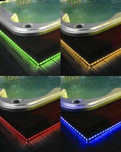 Vendita vasche idromassaggio offerte vasca idromassaggio - Strisce led per bordo piscina ...