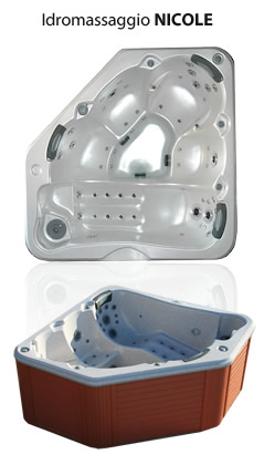 Vasche idromassaggio del taglia relax idromassaggio modello nicole - Del taglia piscine ...