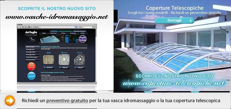 Del Taglia Piscine - Vasche Idromassaggio, Minipiscine, Vasca Idromassaggio, Spa, Hot Tubs